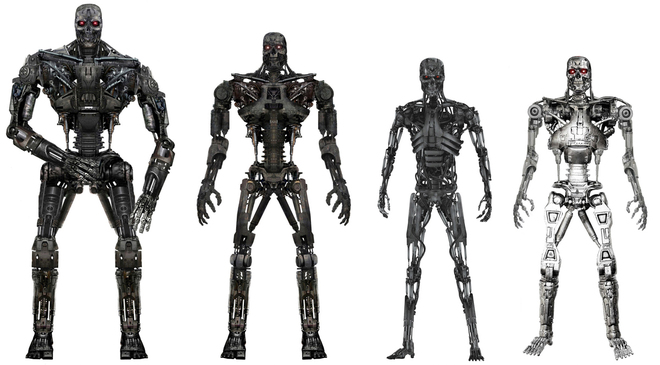 Terminator Salvation models