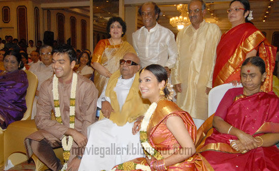 Soundarya Rajinikanth-Ashwin Kumar Engagement