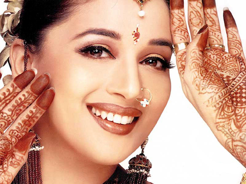 The Gorgeous Actress Madhuri