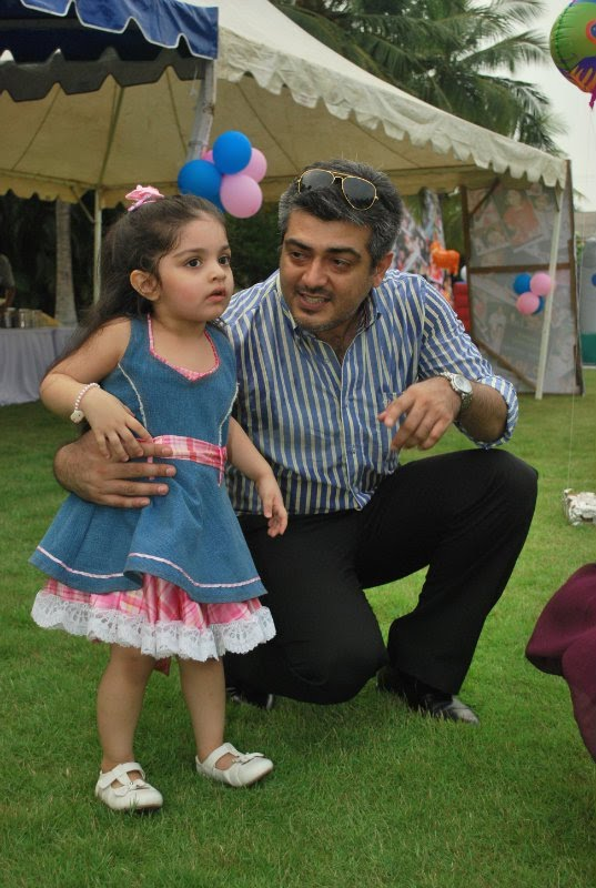 Ajith's Daughter Anoushka