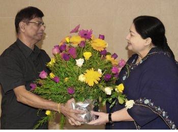 SAC Meets Jayalalitha