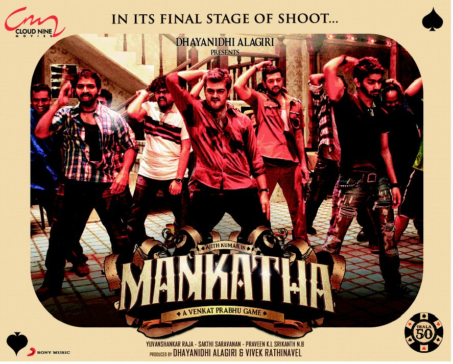 Mankatha Posters
