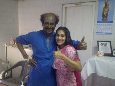 Rajini at Hospital