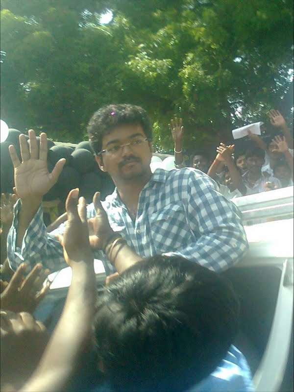 Vijay on his Birthday Celebrations