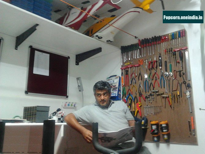 Ajith's Aero Modelling Room