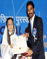 Dhanush got Award