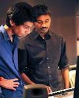 Anirudh Ravichander with Dhanush