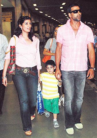Akshay Kumar's family