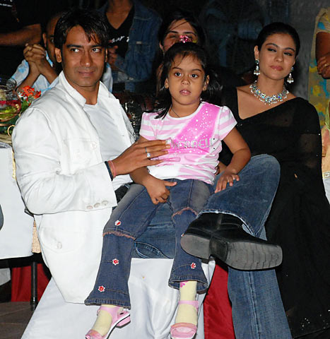 Ajay and Kajol Family