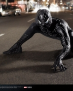 Black Suited Spiderman