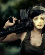 Katrina as a Soldier