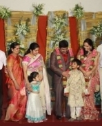 K E Gnanavel Raja Family @ his Marriage