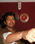 Vijay & Vijay Vashanth at Premji's Birthday Party