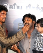 Vijay celebrates Jayam Raja's birthday