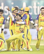 Chennai Rhinos Winning Moments