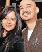 Reema sen and Shiv Karan Singh