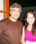 Ajith with VJ Ramya