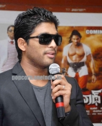 Allu Arjun at Bangalore for promotion 05