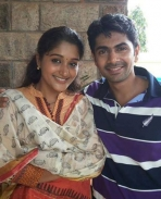 Nishan with Swapna Menon