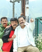 jayaram and suresh gopi in salam kashmeer