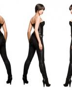 Deepika On Black