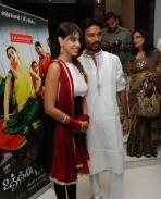 Dhanush & Genilia at UTP Premiere show