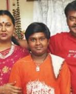 Vijayakanth family photo