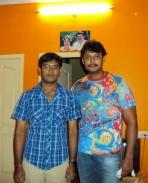me n darshan in my aunty house