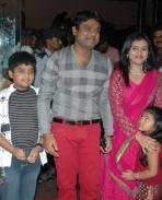 Harrish with family