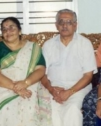 Mohanlal with parents