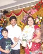 Aarthi Ganesh Reception Stills
