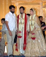 Rambha wedding photos
