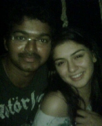 Vijay & Hansika