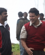 Deivathirumagan On Location Pics