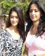 Ileana and Anushka