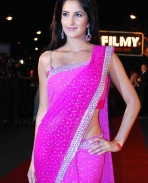 katrina shows off pink!
