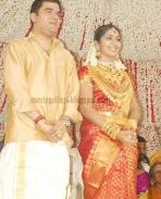 Navya Nair and Santhosh Menon wedding