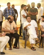 Pawan Kalyan on the sets of A Aa