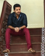 Nithin's latest Photos from A Aa movie