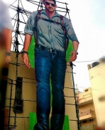 Aagadu cut out poster