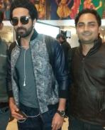 At delhi airport