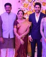 Naga Chaitnaya samantha wedding Reception photos