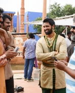 Baahubali unseen shooting photos