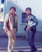 Shankar Nag and Vishnuvardhan in Benki Birugali