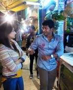 Chakravyuha movie latest working stills