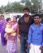 Mr. Dmj raja simhan sir with my family
