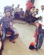 Gandu Endare Gandu movie working stills