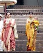 Heama malini and shriya saran look in gauthamiputra satakarini revealed