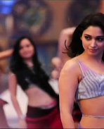 Tamanna item song stills from jaguar movie