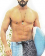 Jayasurya BEACH Six Pack Body Building Physique muscles